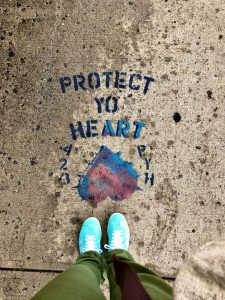 protect the heart floor drawing