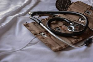 stethoscope in a holster
